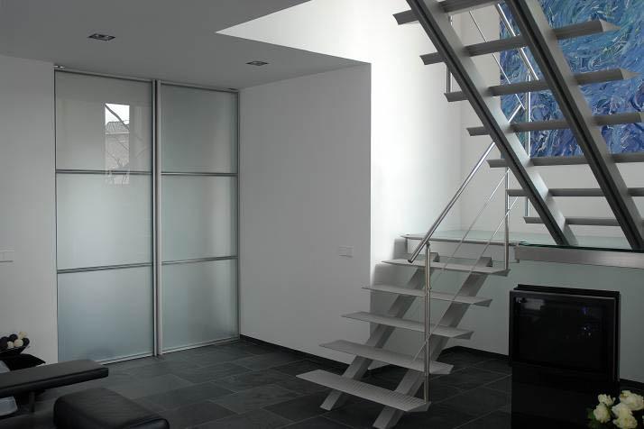 escalier quart tournant double limon divinox caen. Black Bedroom Furniture Sets. Home Design Ideas