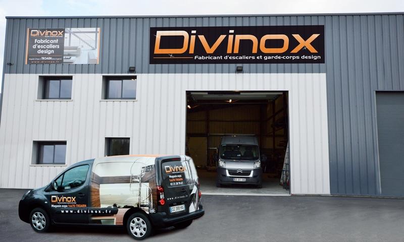 Atelier Acier Divinox à Ranville