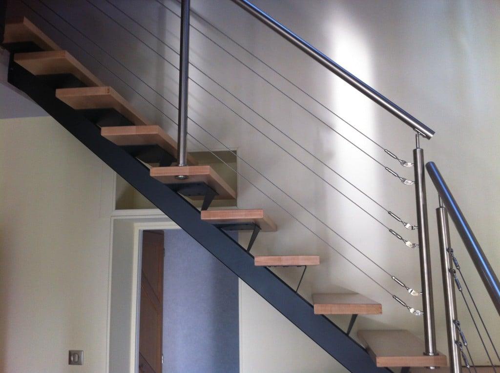 balustrade inox 6 cables. Black Bedroom Furniture Sets. Home Design Ideas
