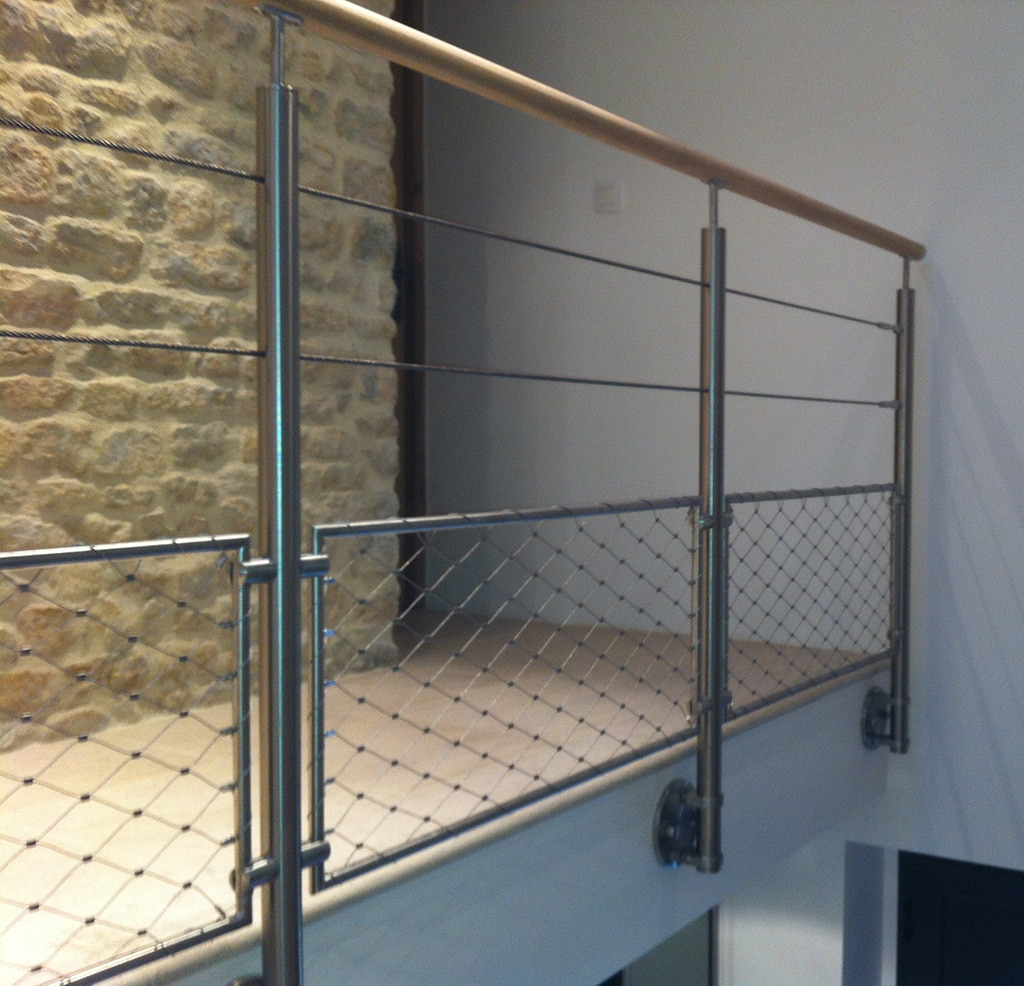 Ou et quand installer un garde corps for Hauteur balustrade