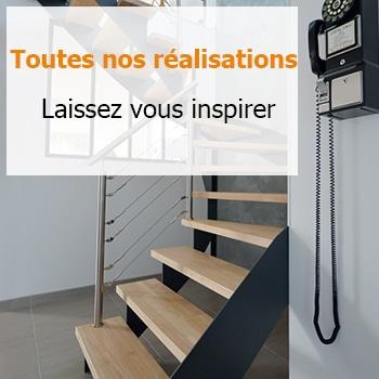 Réalisations d'escalier
