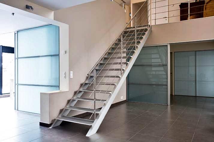 , Escalier Droit