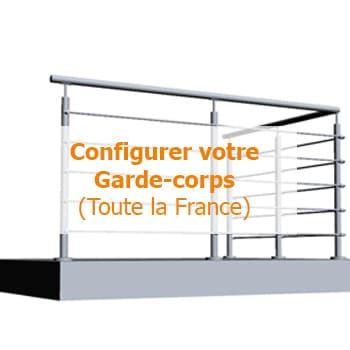 Configurer garde-corps