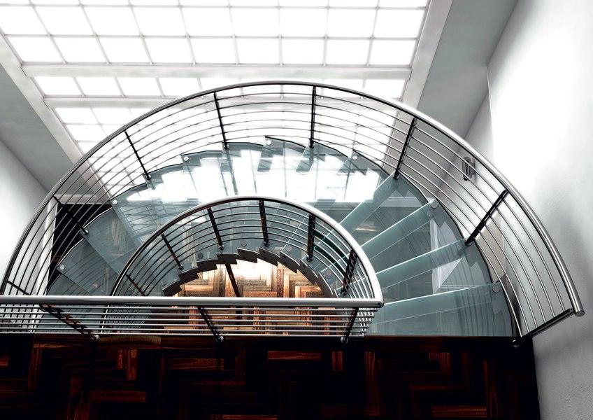 Colimacon-verre-inox-design
