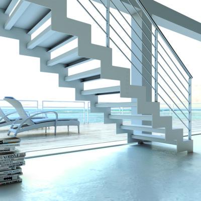 escalier metallique cremaillere