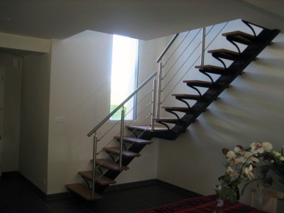 Escalier métalique