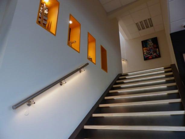 Rampe d'escalier LED