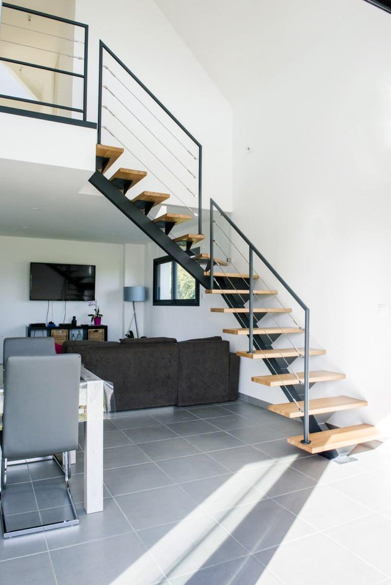 Escalier Design Sur Mesure En Normandie Toutes Nos R Alisations