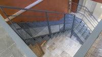 Escalier Berville vue haut