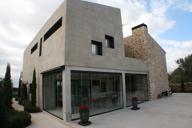 Maison d'architecte avec Verriere