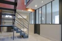 Verriere et escalier