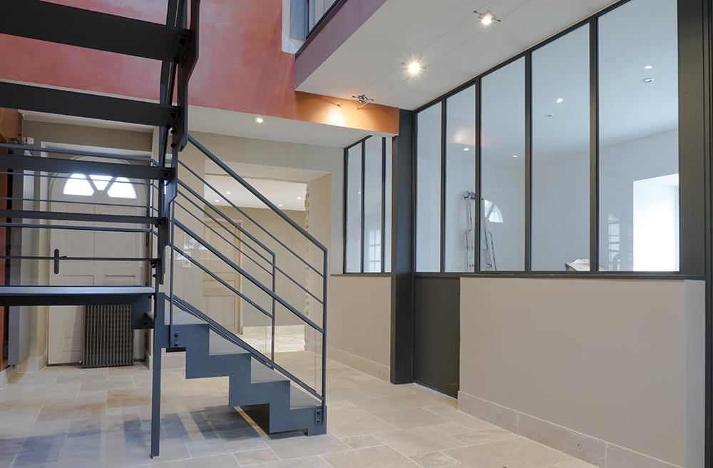 garde corps escalier design et verri re sur mesure en normandie divinox. Black Bedroom Furniture Sets. Home Design Ideas