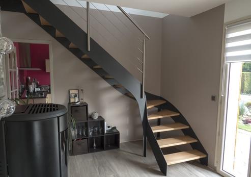 Escalier design sur mesure en Normandie : toutes nos réalisations