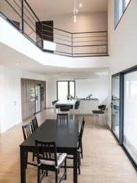 Mezzanine vue d'en bas