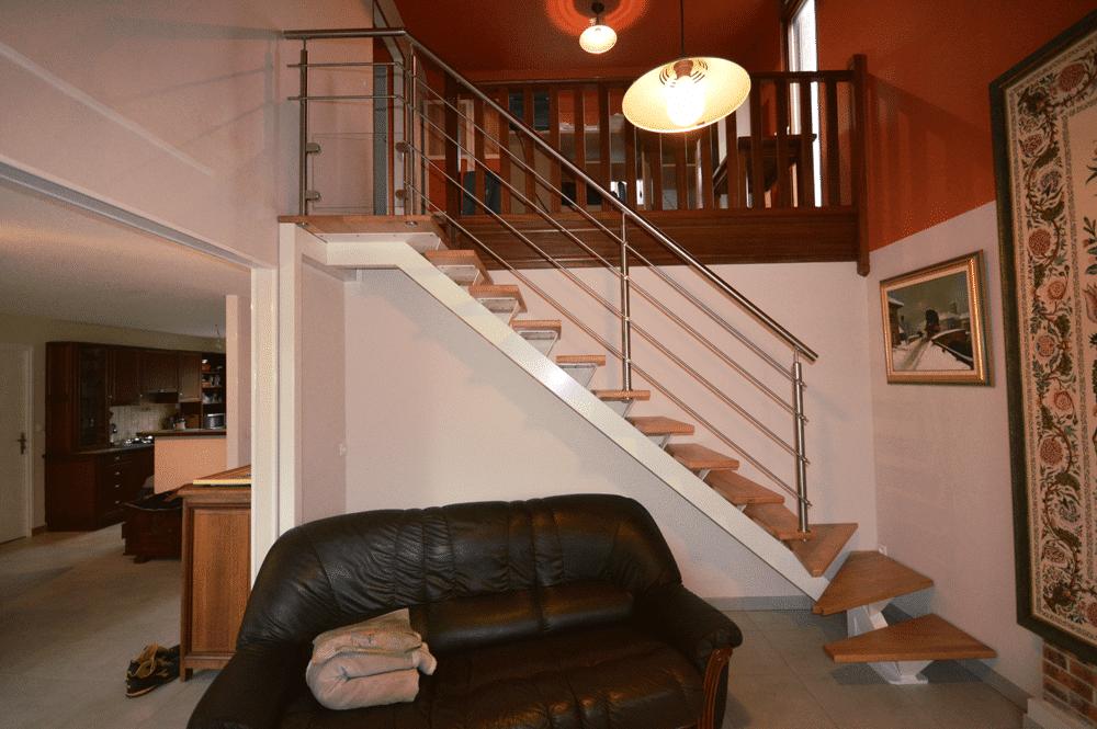 , Escalier Limon Central Blanc