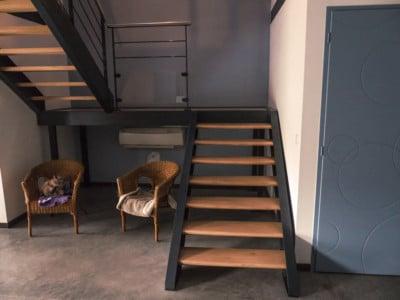 escalier-fer-plat