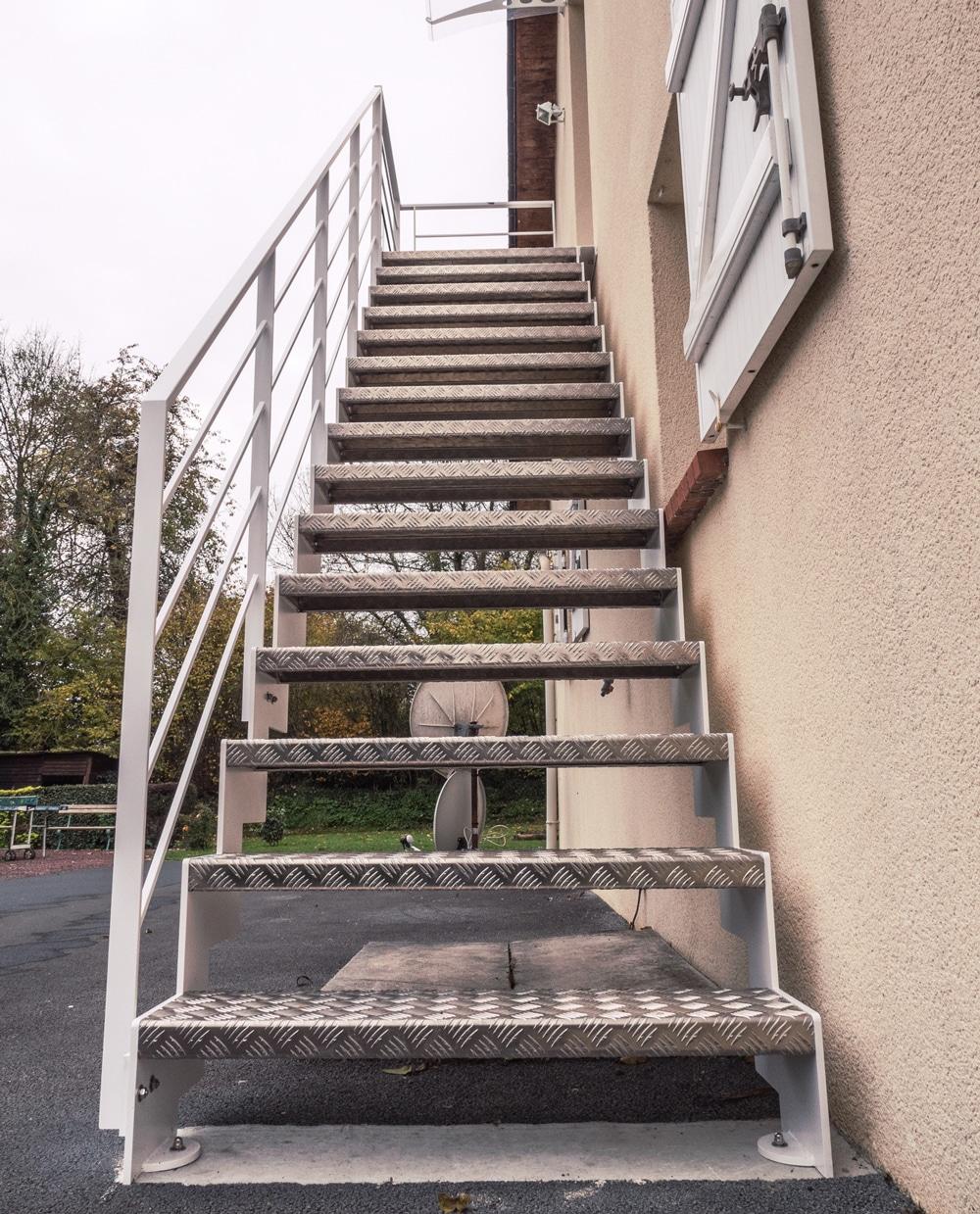 Escalier Metal Extérieur