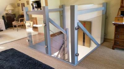 renovation-rambarde-bois-avec-barre-et-verre