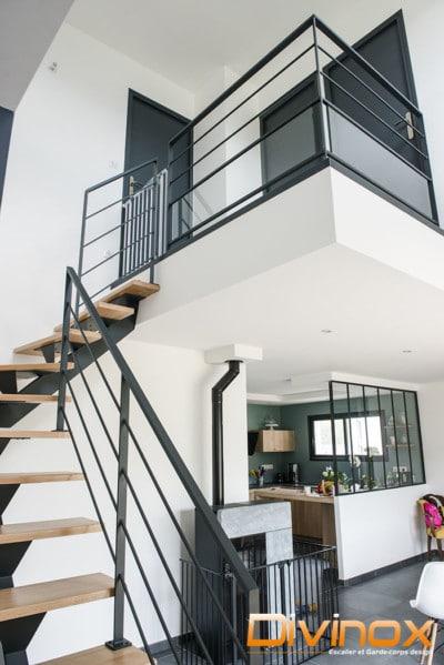 Protection escalier et mezzanine
