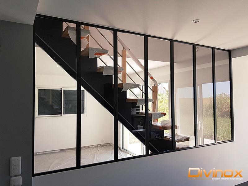 Verrière + Escalier