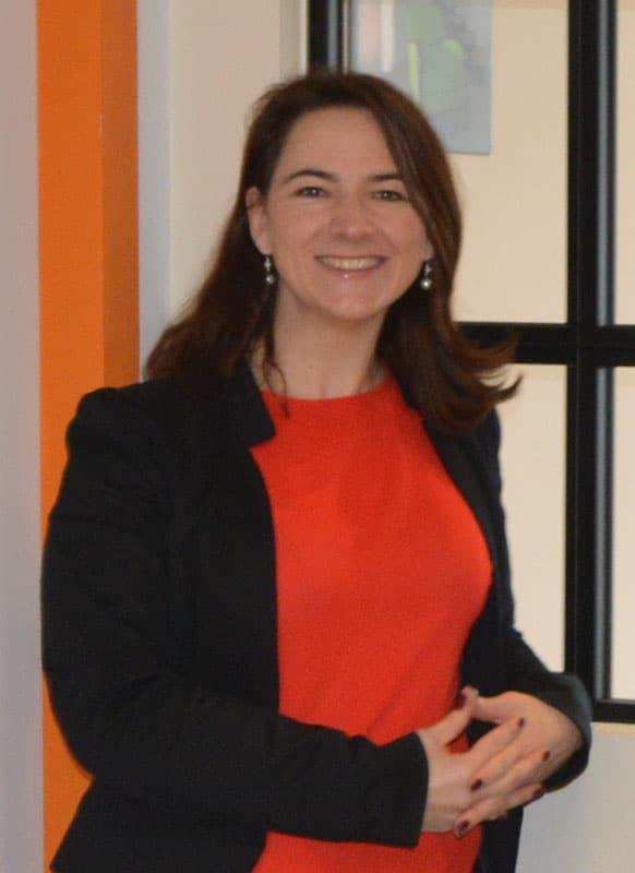 Sandrine responsable d'agence